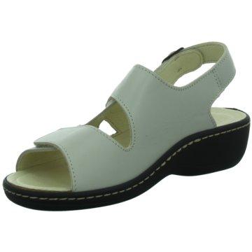 Longo Komfort SandaleLG weiß