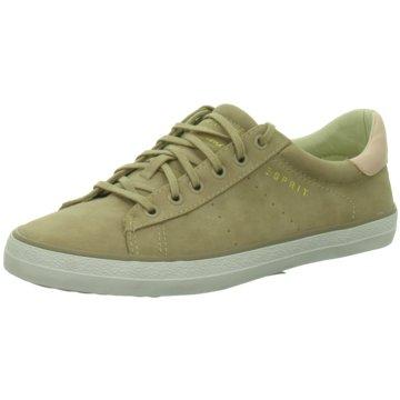 Esprit Sneaker LowMiana Lace up grün