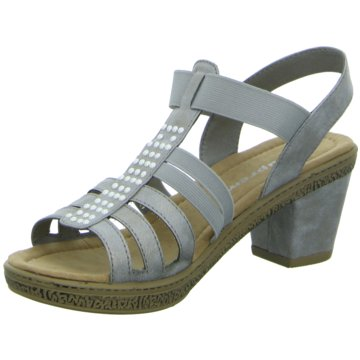 Firence Komfort Sandale grau