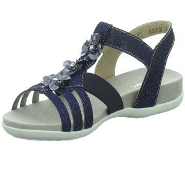 Rieker Offene Schuhe blau