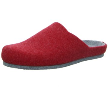 Longo Hausschuh rot