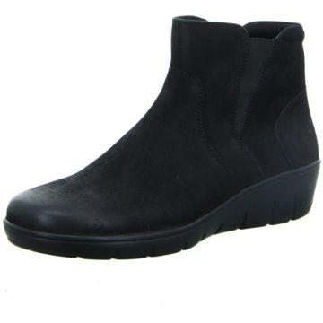 Longo Komfort Stiefelette schwarz