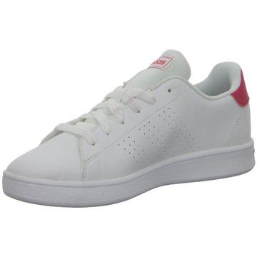 adidas Sneaker LowADVANTAGE K - EF0211 weiß