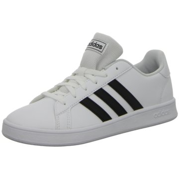 adidas Sneaker LowGRAND COURT K - EF0103 weiß