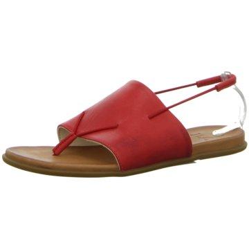 Ladies Sandal red rot
