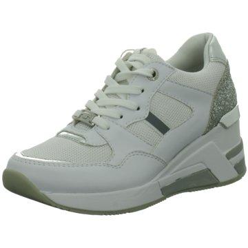 Supremo Sneaker Wedges weiß