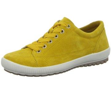 Legero Sportlicher Schnürschuh gelb
