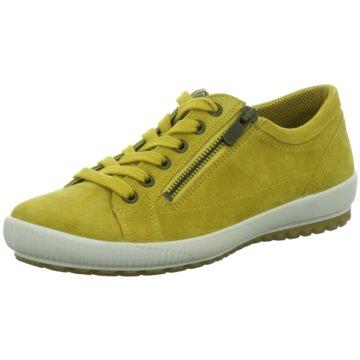 Legero Komfort SchnürschuhSneaker gelb