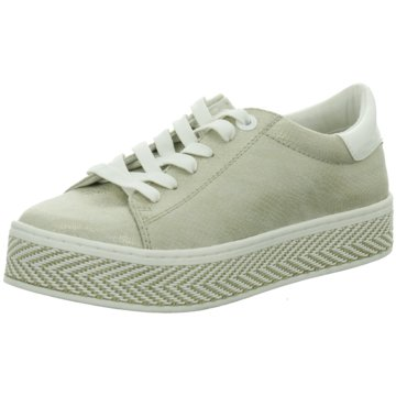 s.Oliver Plateau SneakerDa.-Schnürer gold