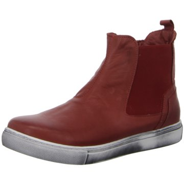 Andrea Conti Bequeme StiefelettenAnkle-Bootie rot