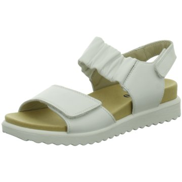 Legero Komfort Sandale weiß