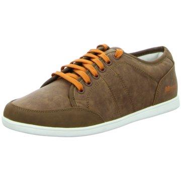 Montega Shoes & Boots Sneaker Low braun