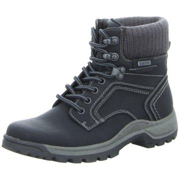 Montega Shoes & Boots Schnürboot schwarz