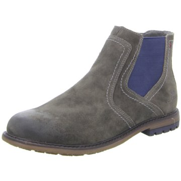 Tom Tailor Chelsea Boot grau