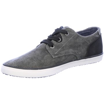 Tom Tailor Sneaker Low schwarz
