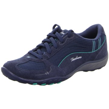 Skechers WalkingBreathe Easy - Just Relax blau