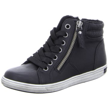 Pep Step Sneaker High schwarz