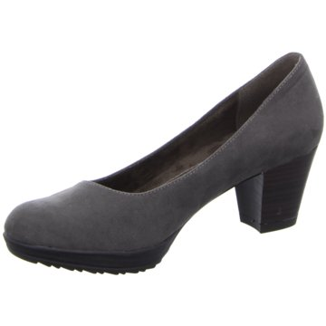 Pep Step Plateau Pumps grau