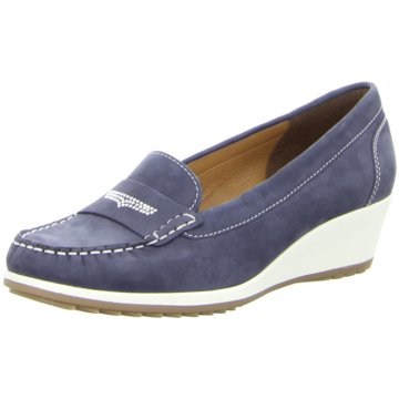 Tom Tailor Mokassin Slipper blau
