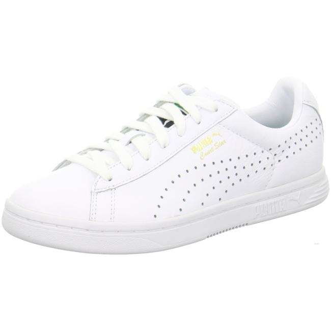 NEU Puma Herren Sneaker Court Star White 357883/001 wei 303562