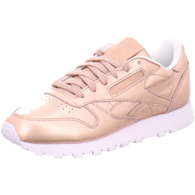 74b3935eb56 Classic Leather Melted Metal Sneaker Damen Schuhe rose gold BS7897 ...