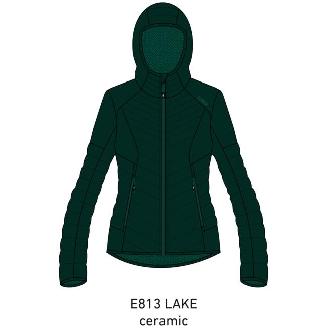 CMP Woman Jacket Fix Hood 30Z2266