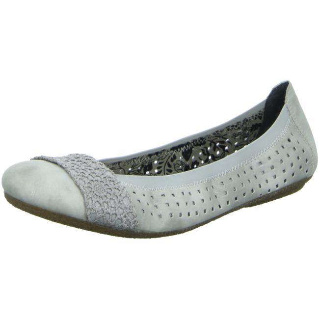 NEU: Rieker Ballerinas 41487 12 blau | Schuhe damen