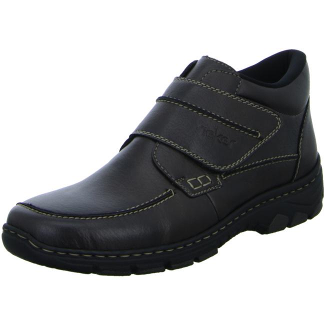Rieker Schuhe braun Hightech Klettverschluss Slipper
