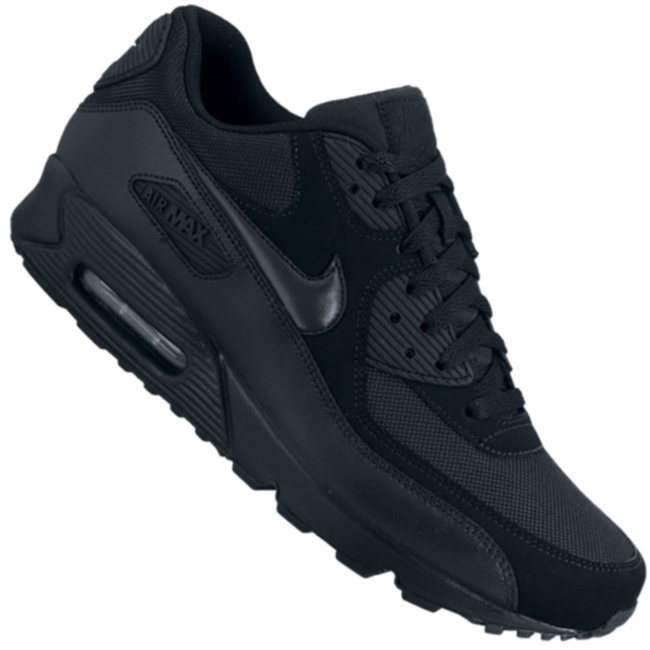 Nike Air Max 90 Essential Herren Sneaker schwarz 537384 090