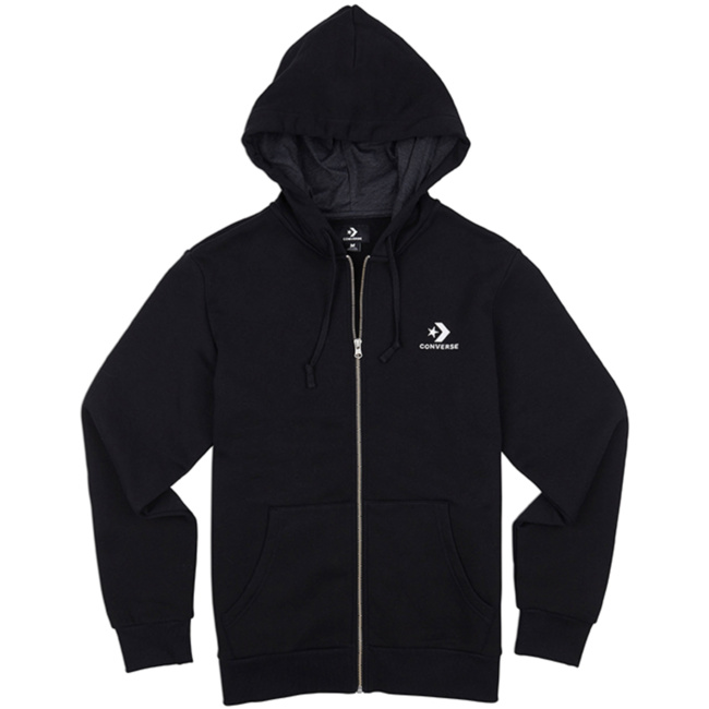Star Chevron Embroidered Full Zip Hoodie 10008813 A01