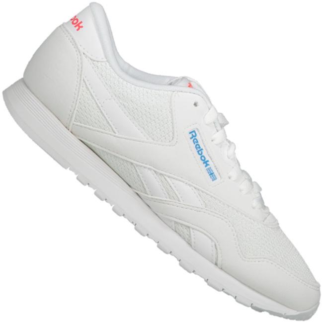 Kaufen Reebok Schuhe Cl Nylon Txt CN6684 WhiteBlueNeon Red