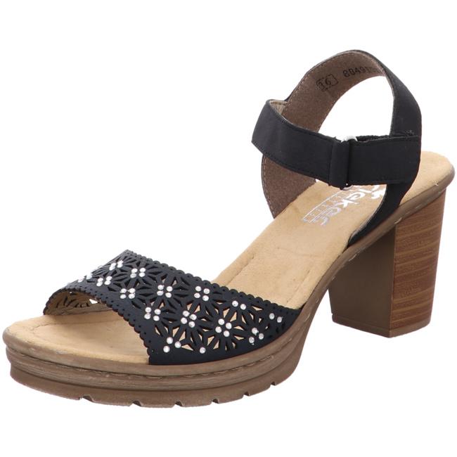 Rieker Sandalette mit Plateausohle, Mit praktischen