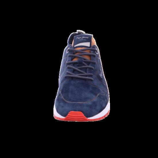 Pepe Jeans Herren Schnürschuh Halbschuh sportlich Sneaker blau 30411 575