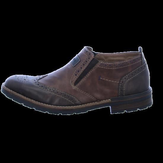RIEKER Schuhe Herren, Schoko, Größe 43 | Schuhe herren