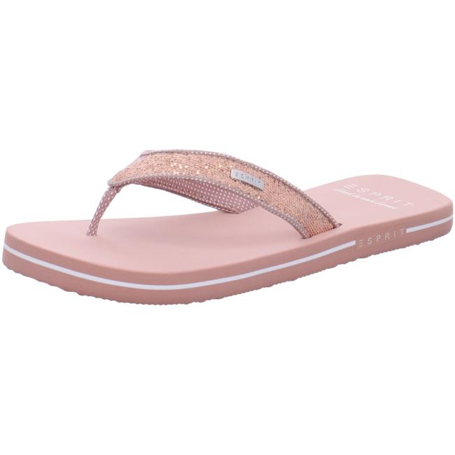 online retailer c8657 6096c Esprit Glitter Thongs Bade- Zehentrenner