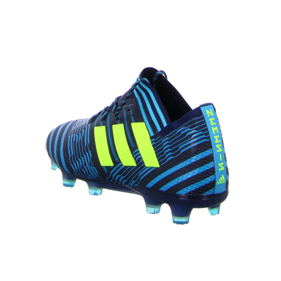 adidas Nemeziz 17.1 FG Herren Fußballschuhe Nocken blau gelb Nocken Sohle