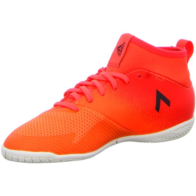 adidas Ace Tango 17.3 Indoor Kinder Fußball Hallenschuhe orange Trainings und Hallenschuhe