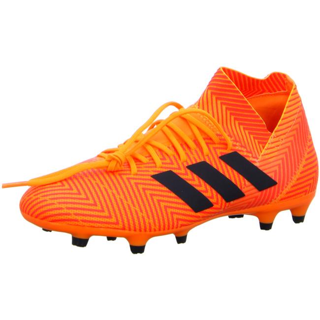 7f906fc5d1 Nemeziz 18.3 FG Fußballschuhe DA9590 Nocken-Sohle von adidas