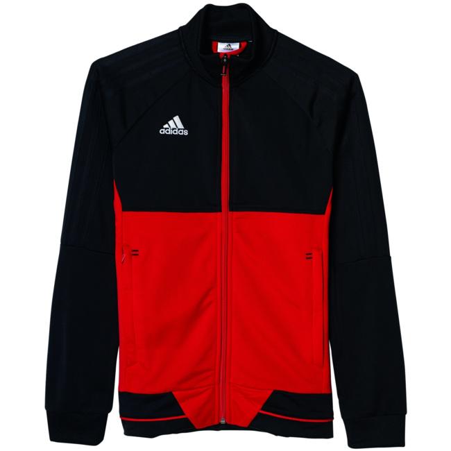 Tiro 17 Training Jacket Kinder Trainingsjacke schwarz weiß
