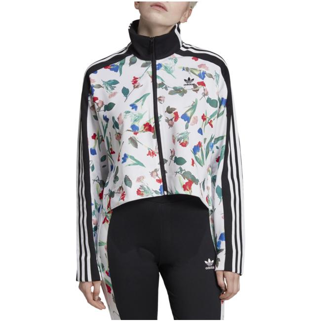 Übergangsjacken Print Jacke Allover Adidas Adidas Jacke