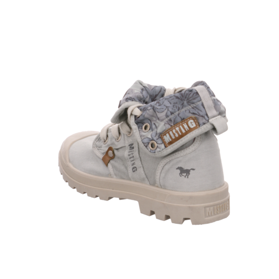 Mustang sneaker high ice damen schuhe