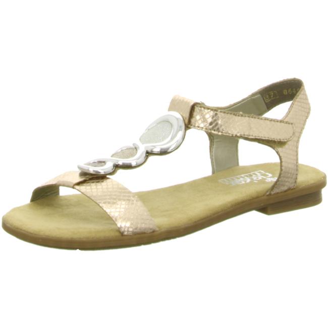 Rieker 64265 Schuhe Damen Sandaletten Sandalen