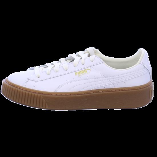 Puma Basket Platform Core weiß (Damen) (364040 01) ab € 75,95