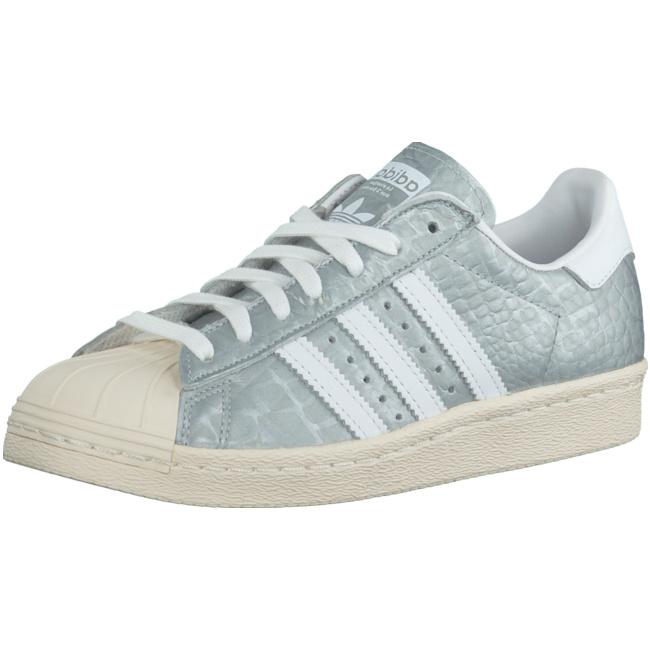 Adidas Originals Superstar Damen Sneakers Silber ohne