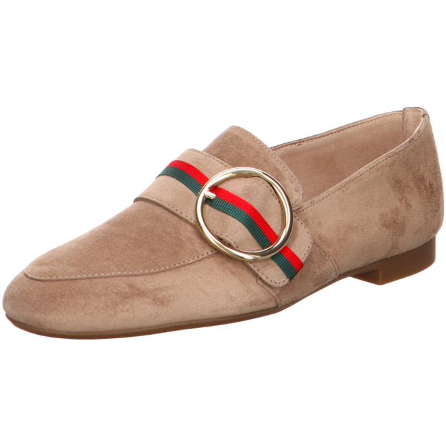 40 PAUL GREEN Stiefeletten Boots Zierschnalle Taupe Gr