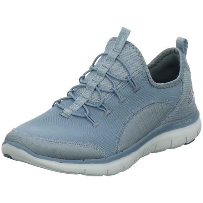 12903-blu Sportliche Slipper von Skechers--Gutes Preis-Leistungs-Verhltnis, es lohnt sich