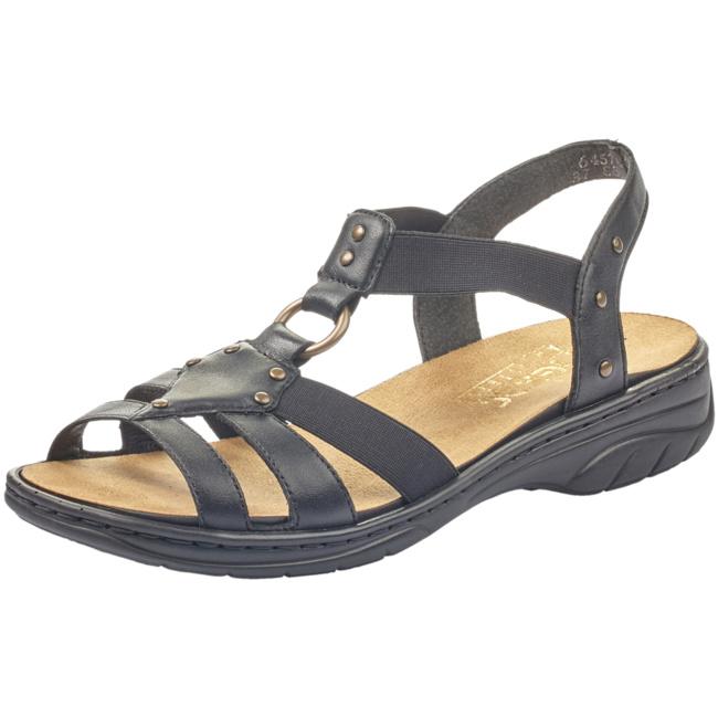 Rieker women sandal black 64574 00
