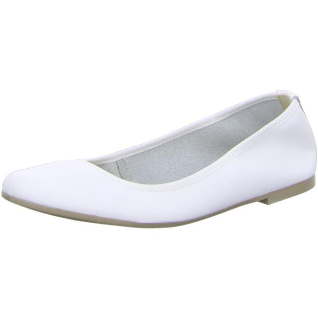 Ballerinas TAMARIS - 1-22128-20 White Leather 117 B5OiopM