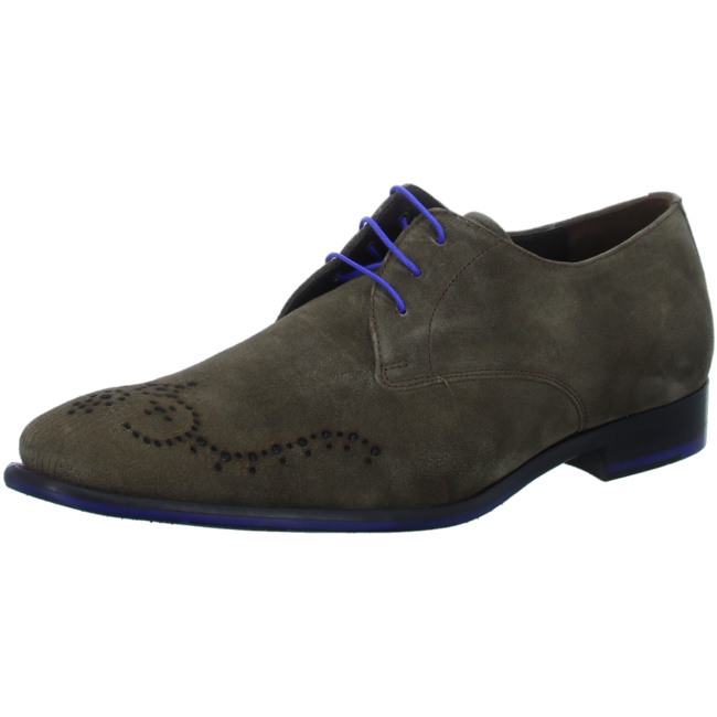 Senfgelber Wildleder Sneaker 1628431   Floris van Bommel