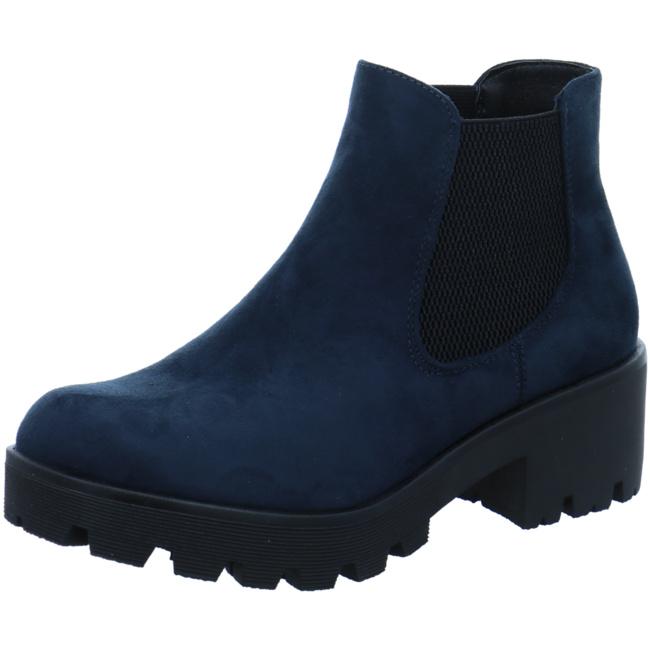 Rieker Winterboots Mit Plateausohle Nachtblau